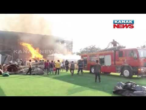 Fire Breaks Out At Prabhas's Adipurush Set In Mumbai