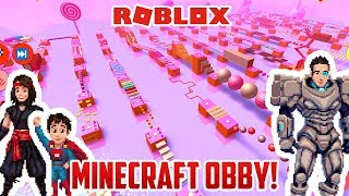 Roblox: MINECRAFT OBBY?! WHERE ARE WE?