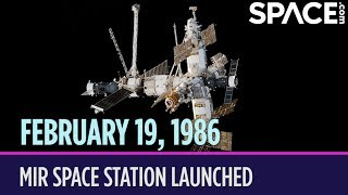 OTD in Space – February 19: Mir Space Station Launched