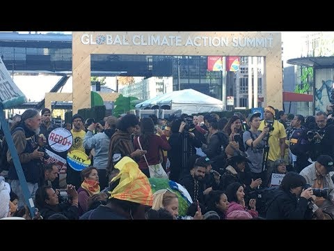 Hundreds Disrupt Global Climate Action Summit, Demand Climate Justice