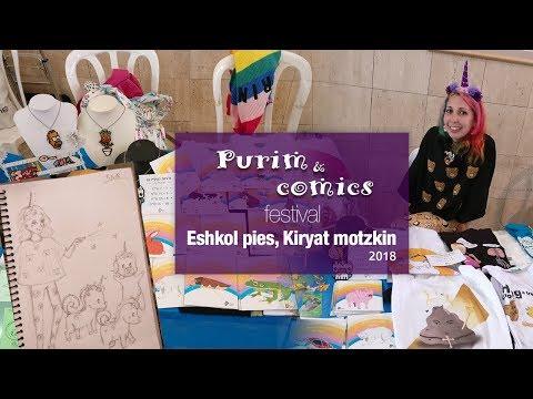 Purim and comics festival | Israel, kiryat motzkin