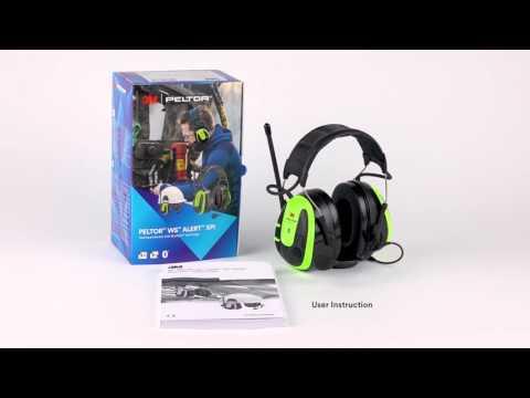 Prima In The Box - 3M™ PELTOR™ WS™ ALERT™ XPI User Instructions - YouTube VI-43