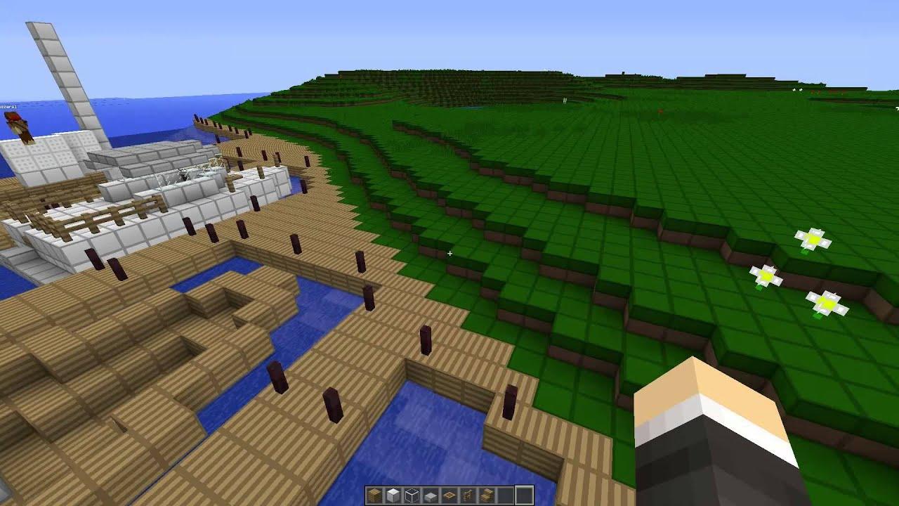 Minecraft Tropical Island Resort