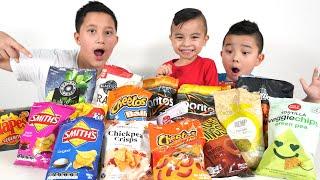 Guess That Chip Flavor Challenge Fun CKN