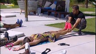 Treino de Abdominal no Love on Top | TVI Reality