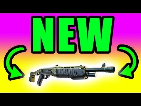 NEW Legendary Pump Shotgun! Shotguns Buffed ⚠️ Fortnite Battle Royale Live PC Gameplay