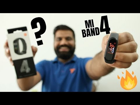 Xiaomi Mi Band 4 Unboxing And First Look - Best Budget Fitness Band🔥🔥🔥