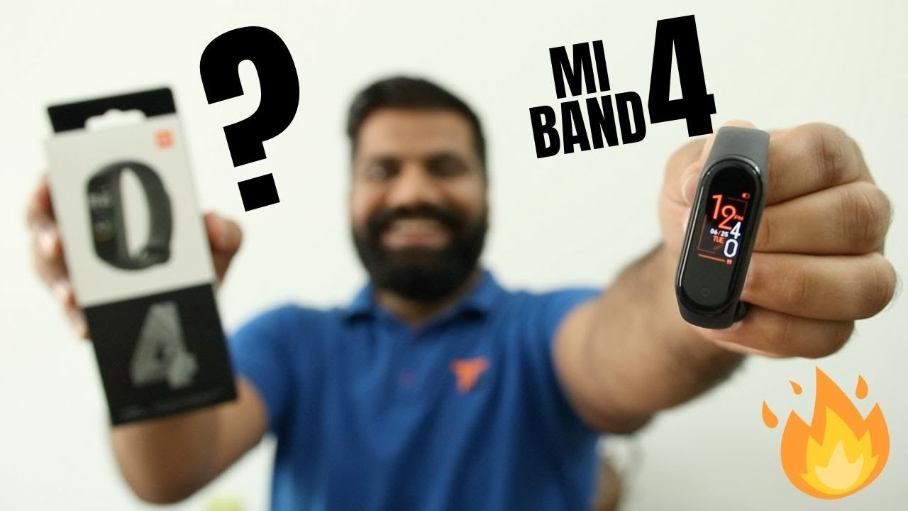 Xiaomi Mi Band 4 Unboxing and First Look - Best Budget Fitness Band????????????