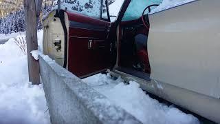 Chrysler Newport 440 Cold start