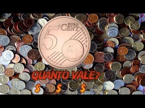 QUANTO VALE 5 CENTS EURO