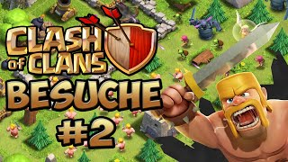 CLASH OF CLANS DORF BESUCHE #2 - Ich besuche eure Dörfer bei COC ★ Let's Play Clash of Clans