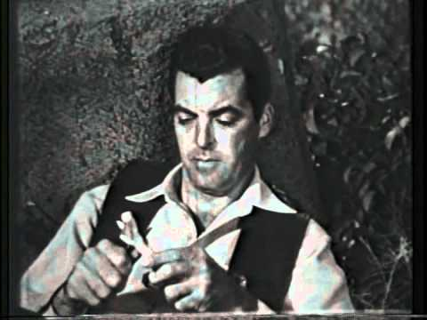 The Texan starring Rory Calhoun - 'No Tears for the Dead' - as originally broadcast 8 December  1958