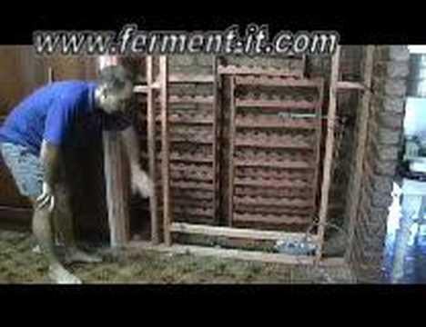 DIY wine cellar & DIY wine cellar - YouTube