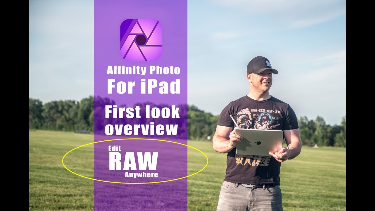 Affinity Photo for iPad  Edit RAW Pictures Anywhere! iPad app overview