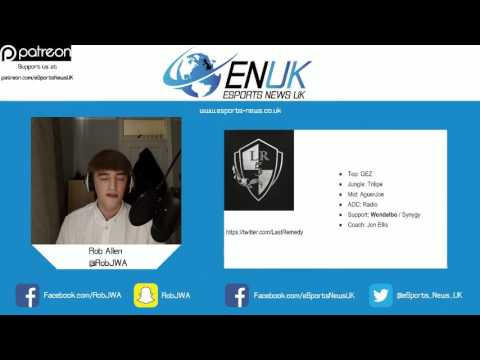 UK League of Legends Format and Roster Update - Summer 2016