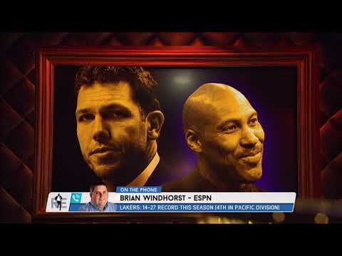 Brian Windhorst Tells Rich Eisen Lakers Don't Back Walton; Could Hire Fizdale to Lure LeBron James