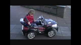 Детский электромобиль X8, 2 мотора, 12V -- Raspashonka.com.ua(Купить детский электромобиль X8 черный вы можете на сайте: http://www.raspashonka.com.ua Характеристики: - 2xАКБ 6V10A - 2 мото..., 2012-10-23T17:31:01.000Z)