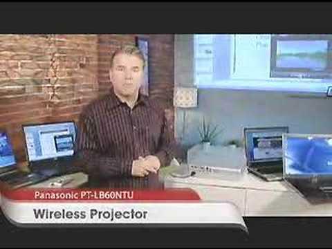 GetConnected  Tech Look  Panasonic Wireless Projector