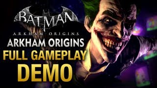 Batman: Arkham Origins - Full Gameplay Demo Walkthrough [E3 2013]