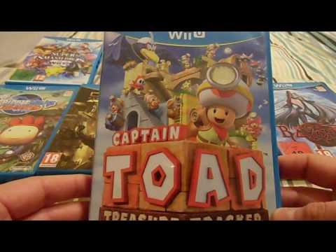 Mi Colección de Wii-U (Especial 4 Aniversario de su Lanzamiento)