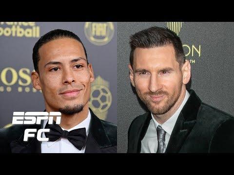 Lionel Messi Vs. Virgil Van Dijk Ballon D'Or Debate Gets HEATED! | ESPN FC