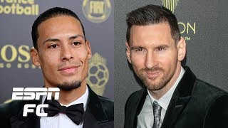 Lionel Messi vs. Virgil van Dijk Ballon d'Or debate gets HEATED! | ESPN FC