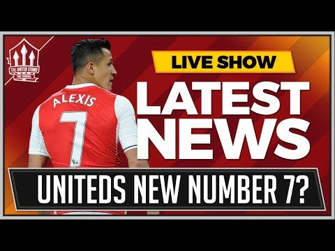 Alexis SANCHEZ Is MANCHESTER UNITED'S Number 7? MAN UTD Tran