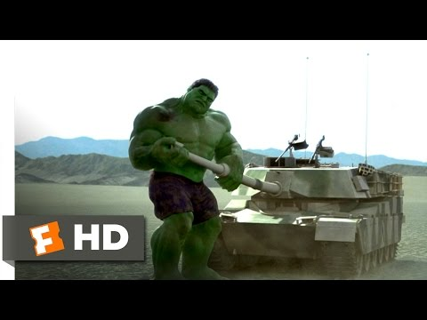 Hulk (2003) - Send in the Tanks Scene (8/10) | Movieclips