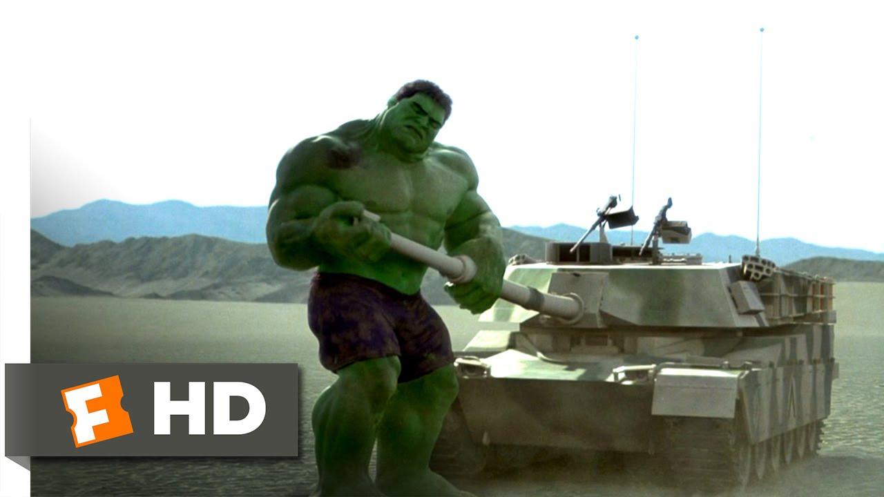 Hulk (2003) - Send in the Tanks Scene (8/10)   Movieclips