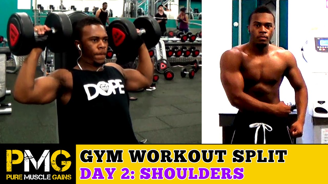 4 Day Workout: Day 2 - Shoulders, Forearms & Abs