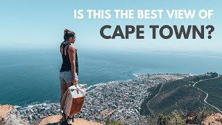 THE BEST VIEW OF CAPE TOWN SOUTH AFRICA - THE LIONS HEAD HIKE