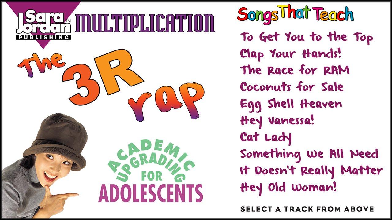 The 3R Rap | Multiplication | Sara Jordan Publishing