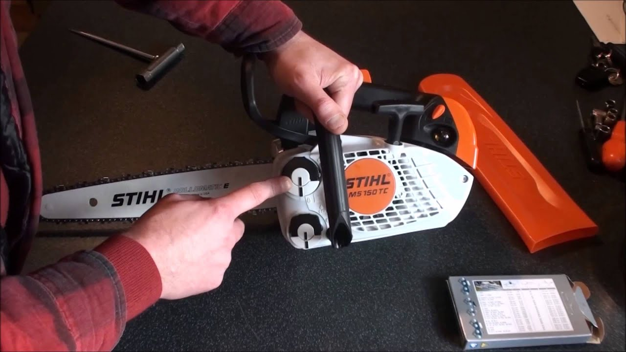 Stihl Ms150 Tc E Top Handled Chainsaw Review And
