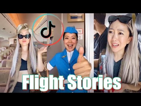 Real Flight Stories Funny | Jeenie Weenie TikTok Cabin Crew Compilation - TikTok Themes