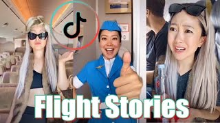 Real Flight Stories Funny | Jeenie Weenie TikTok Cabin Crew Compilation