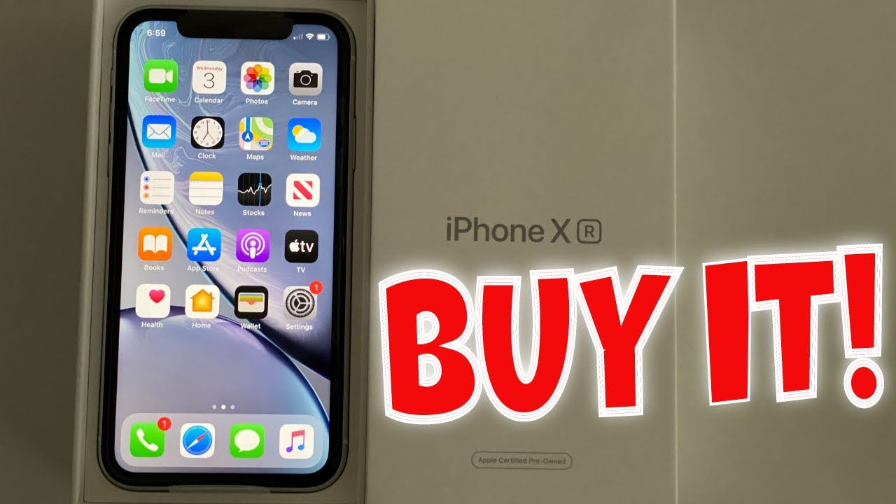 Unboxing a refurbished iPhone XR from Apple. Buy it! - YouTube