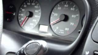 Fiat Brava 1.2 16V  accerelation 0-150km/h for UK Fiat forum user's