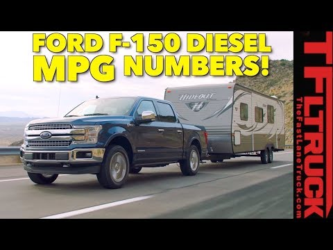 Is the 2018 Ford F-150 Diesel the King of MPG? EPA Ratings Announced