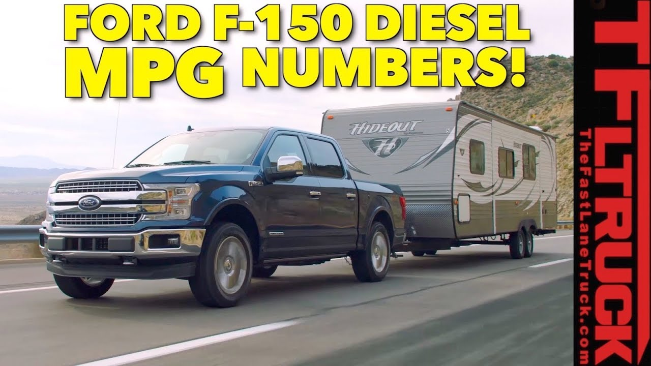 Is the 2018 ford f 150 diesel the king of mpg epa ratings announced