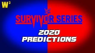WWE Survivor Series 2020 Predictions