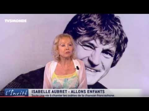Isabelle Aubret chante La belle endormie de Georges Chelon
