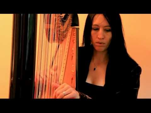 Liath Hollins - Clocks (Coldplay) harp cover