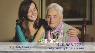 Holy Family Hospice comes to you commercial