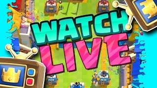 LIVE SPECTATING :: Clash Royale :: NEW UPDATE PT.1