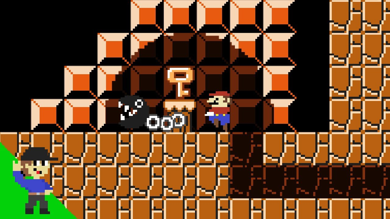 Level UP: Mario and the Hidden Chambers Maze