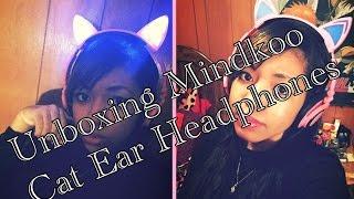 Unboxing Mindkoo Cat Ear Headphones