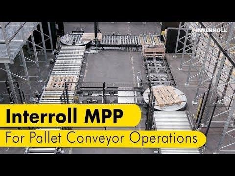 Modular Pallet Conveyor Plattform – Interroll MPP