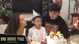 Ưng Hoàng Phúc và bà xã Kim Cương tổ chức sinh nhật thật vui cho con trai
