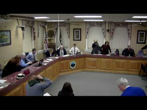 Georgetown City Council Meeting January 9, 2017