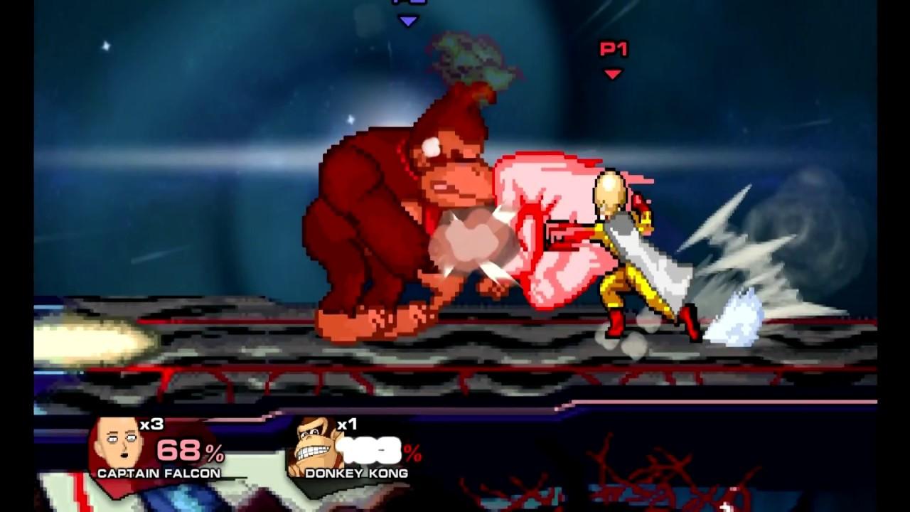 Super Smash Flash 2 v0 9b Mod Preview 1 Saitama